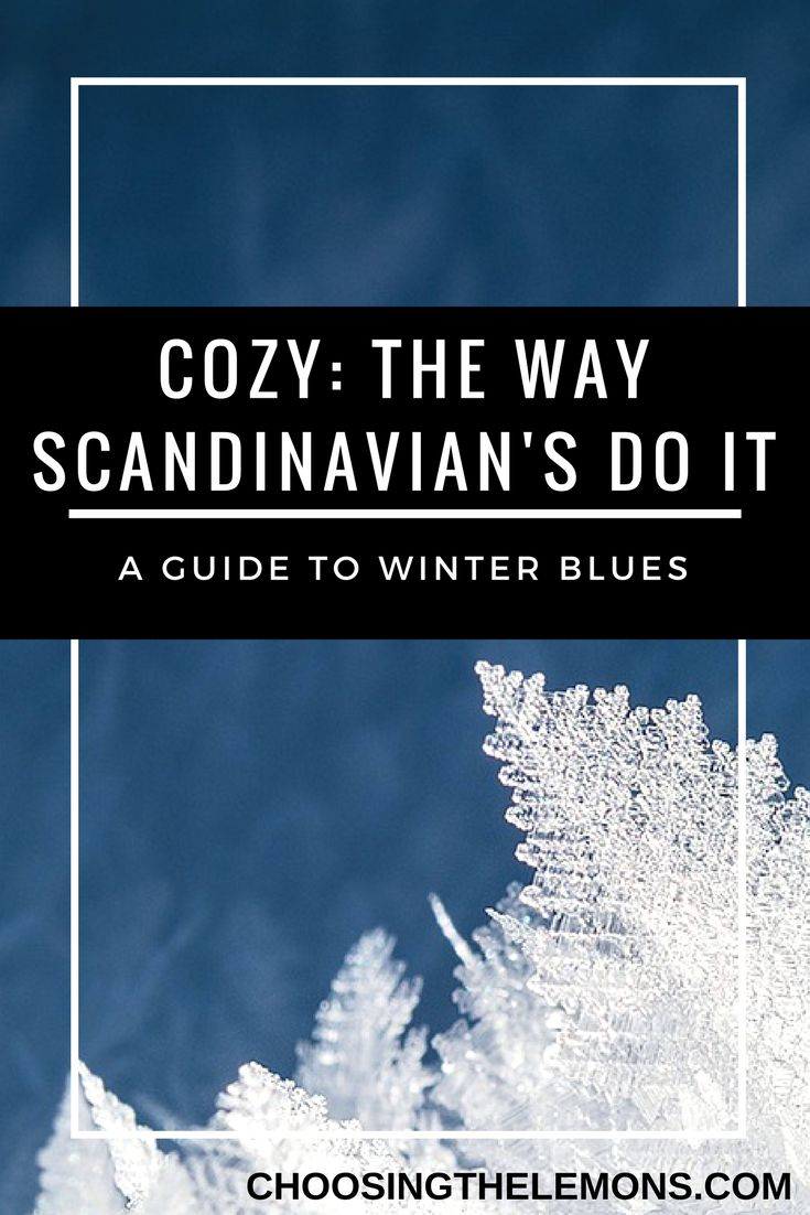 Feeling down this winter? read this mothers blog! get cozy and read how people in Scandinavia feel about the winter. How do you combat the winter blues?