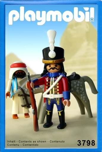 7th Hussar of Napoleon's Grand Armee -  Playmobil Style