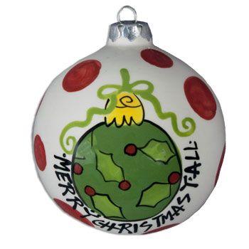 Christmas Ornament Ball Tree