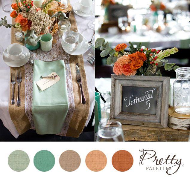 Spring Wedding Colors Pretty Palettes 78 Photo Source Jennifer Boyle Photography Pinterest And