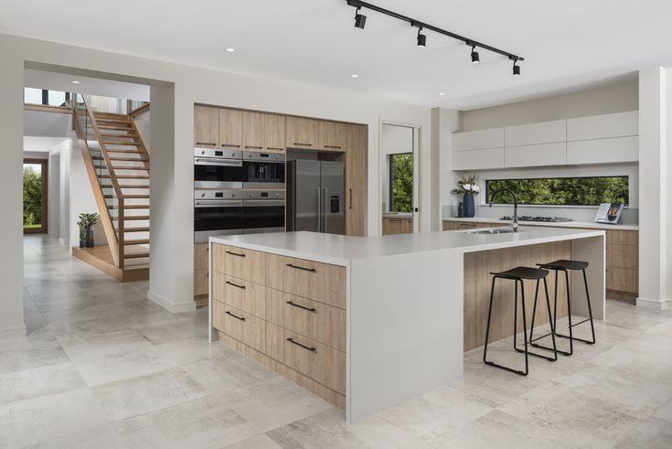 Balmoral 503 kitchen on display at Berwick Waters Estate, Clyde North.