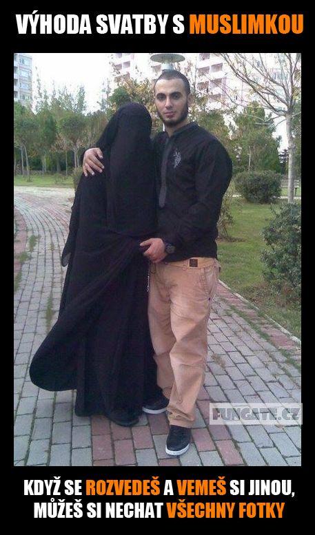 Výhoda svatby s muslimkou, když…