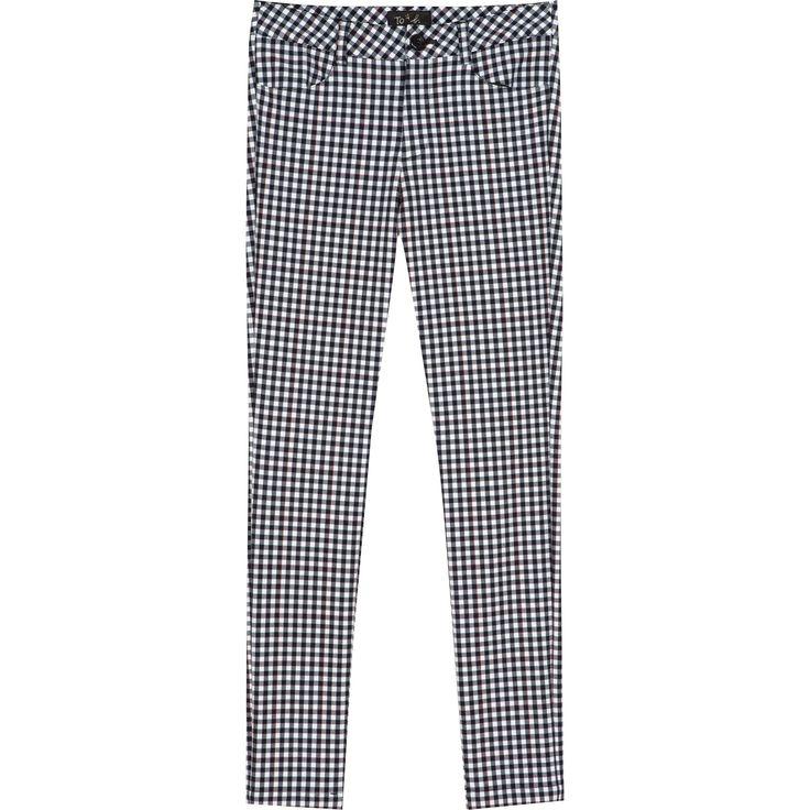 ★ To b. pantalon gingham To b. noir #agnesb #tobbyagnesb