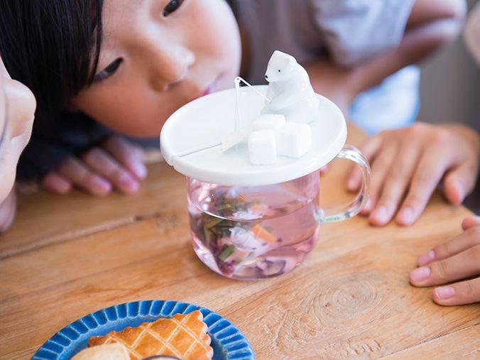 """귀여운 북극곰 모양의 티백 홀더 - TEA BAG HOLDER """"SHIROKUMA"""" : 네이버 블로그"""