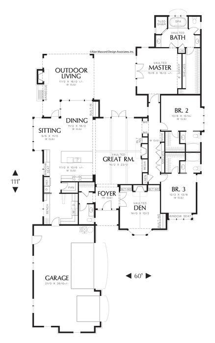 2,904 sq. ft, Plan 1234, The Alberg