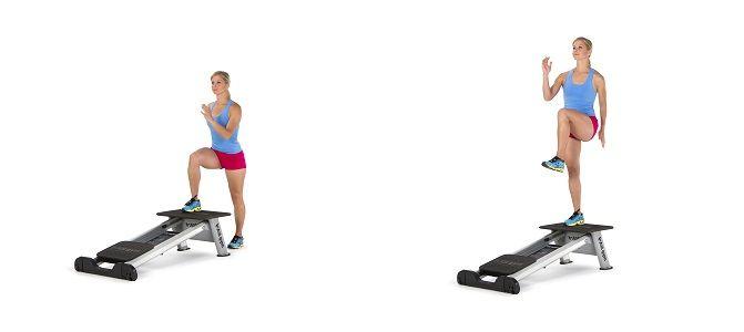 Atrévete con este #CircuitoDeEjercicios para piernas y fortalece tu tren inferior con Leg Trainer.