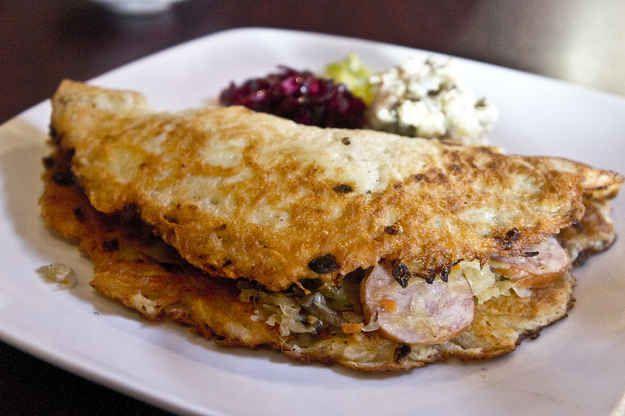 Placki ziemniaczane (potato pancakes) | 18 Scrumptious Polish Dishes That Will Rock Your World