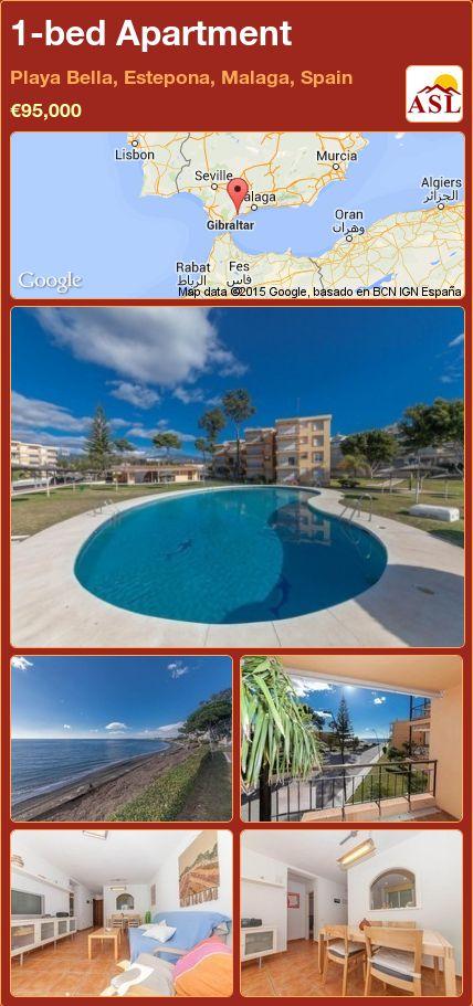 1-bed Apartment in Playa Bella, Estepona, Malaga, Spain ►€95,000 #PropertyForSaleInSpain