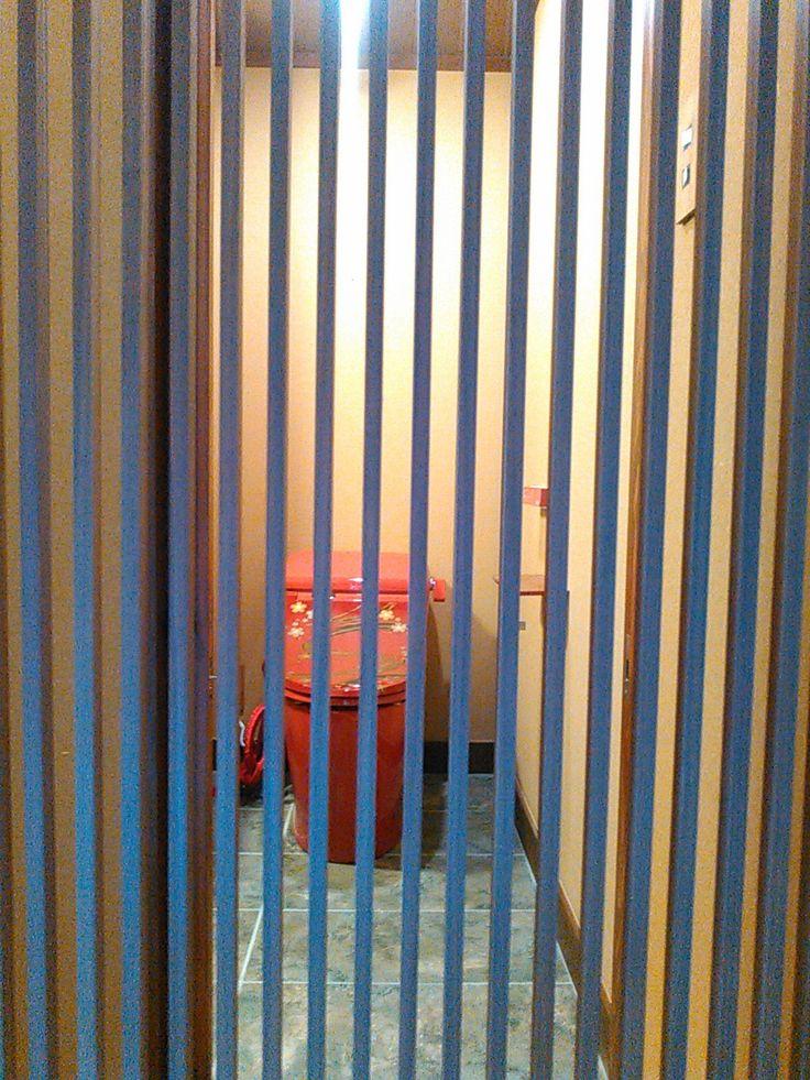 箱根の上質な宿「弓庵」様に導入いただいたBIDOCORO。「朱赤の真」銘「桜舞龍」