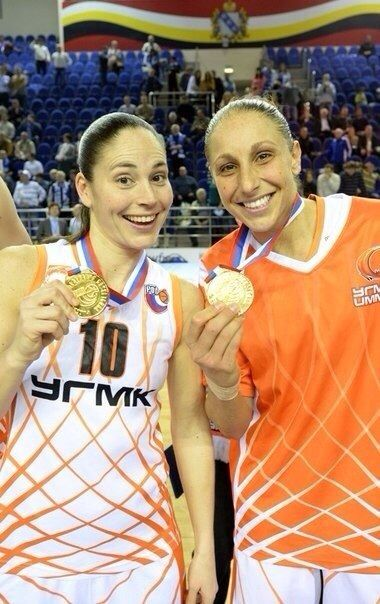 Sue Bird & Diana Taurasi. WNBA LEGENDS!