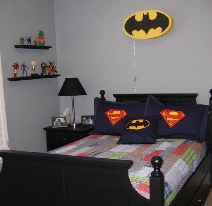 Simple Superhero Bedroom Ideas For Kids