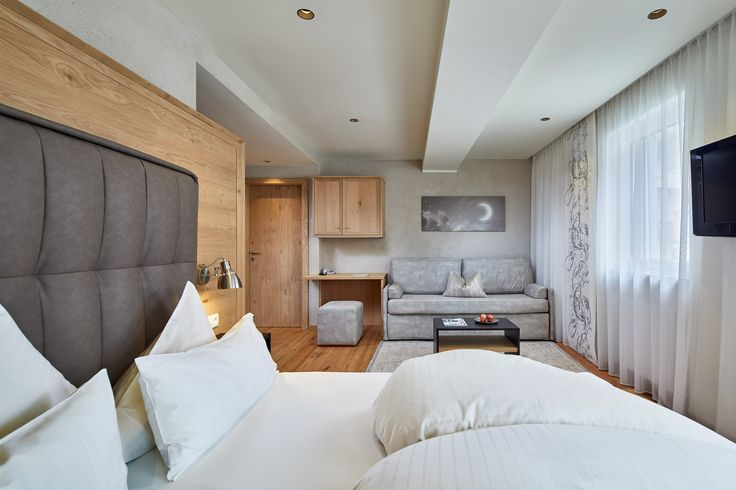 Wohlfühlgarantie im neuen Doppelzimmer Silbermond (31 m²)
