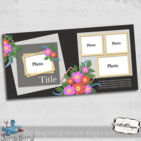 Be Inspired - Double Pages Vol.1 by AADesigns