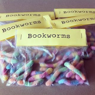 Bookworms to give the children after they have swapped?