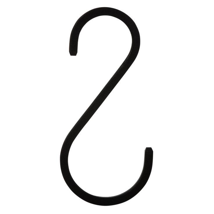 S-krok järn 10cm, granit.com