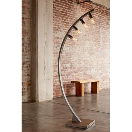 Arcos 71 Quot High Bronze Arc Floor Lamp By Franklin Iron