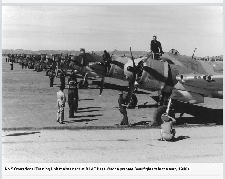 BEAUFIGHTERS. from RAAF page on Facebook