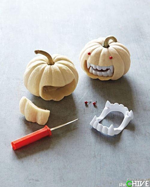 Fun vampire pumpkins