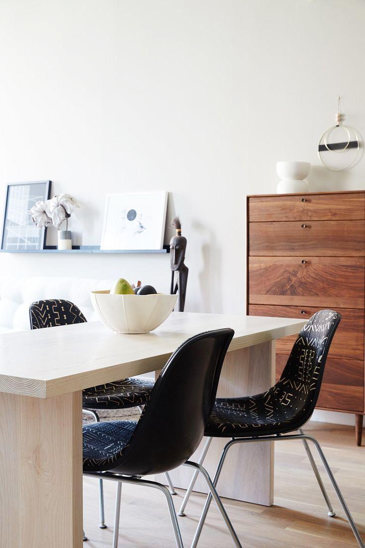 Tour A Textural Family Friendly Brooklyn Loft Kitchen FurnitureCustom Dining