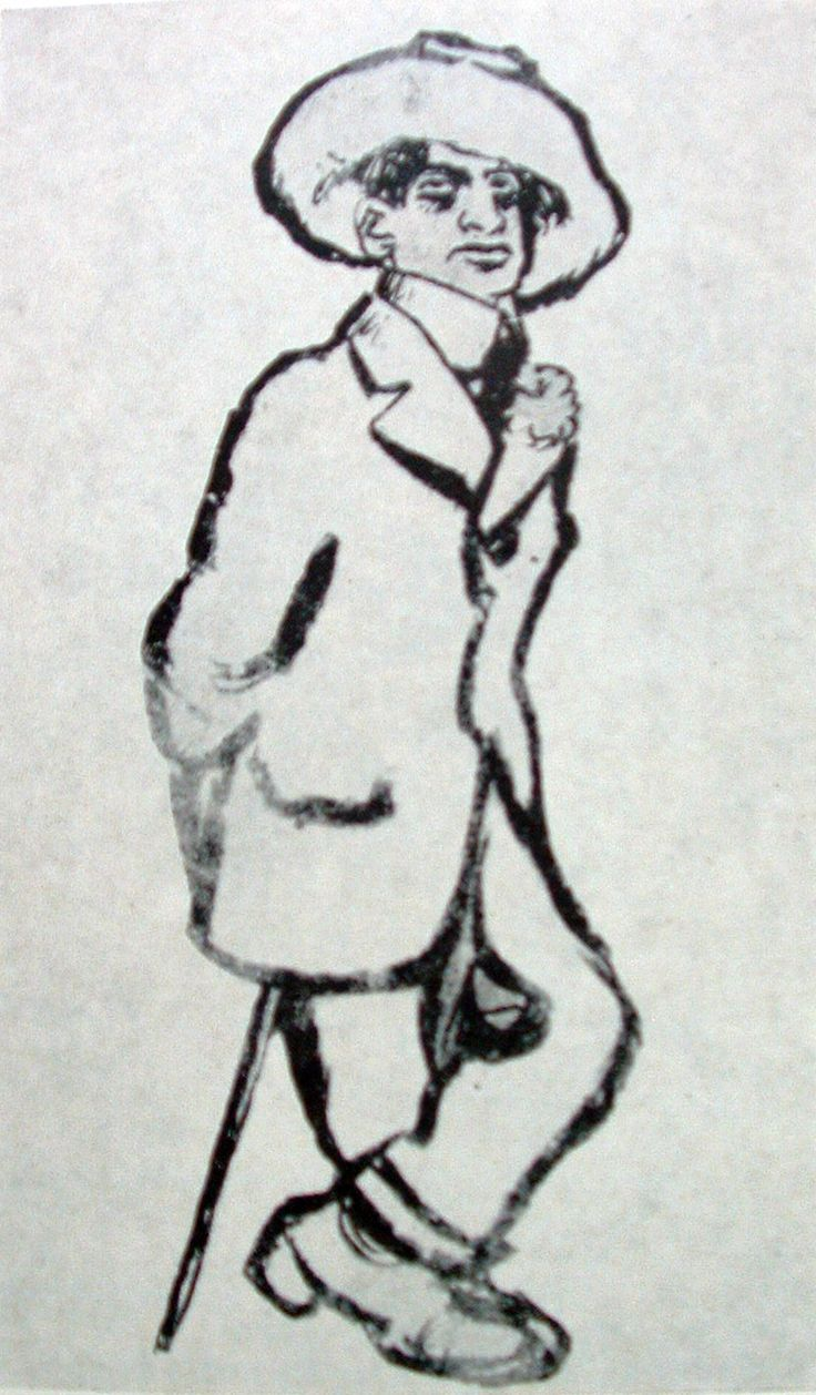 RIPPL-RÓNAI József: Endre Ady in Paris, 1910