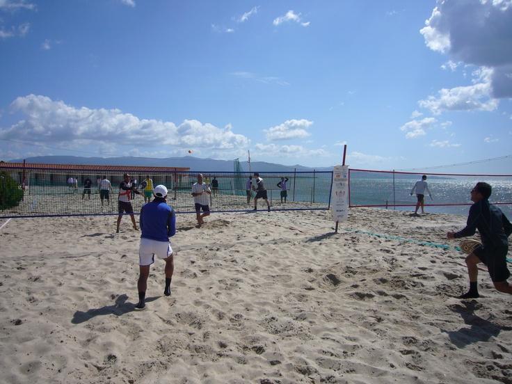 Beach Tennis at Poetto