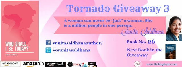 LITERATI: TORNADO GIVEAWAY 3 - WHO SHALL I BE TODAY? BY SUNI...
