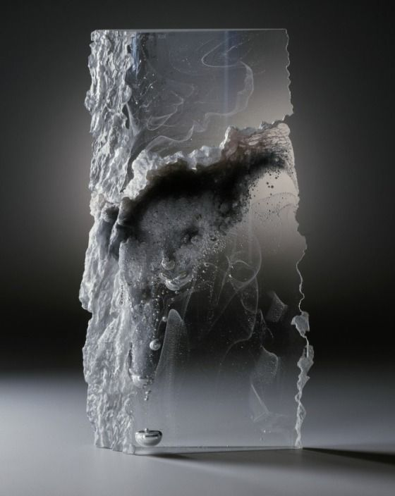 Tall, Slim Form Colin Reid (England, born 1953) England, 1984 Sculpture Glass 15 x 7 7/8 in. (38.10 x 20.00 cm) Gift of Daniel Greenberg and Susan Steinhauser (M.86.273.10a-b)