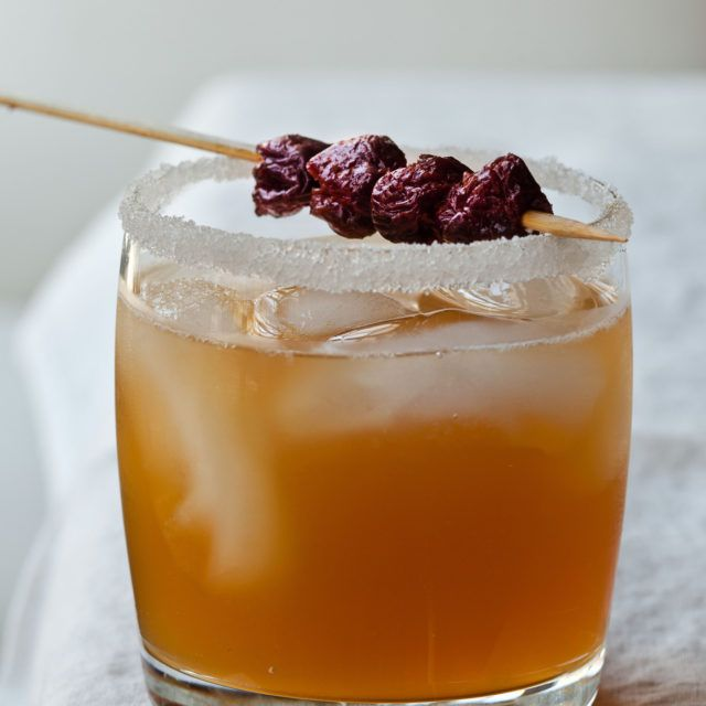 Sidecars With Dried Cherries