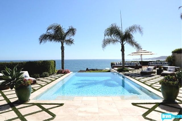 for the side of house ciao! newport beach: inside Yolanda Foster's closet and home