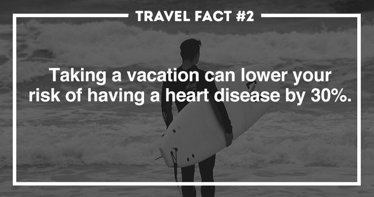 easy rock travel lower risk of heart disease