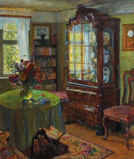 Paul Kauzmann (1874-1951) - Interior, 1928.
