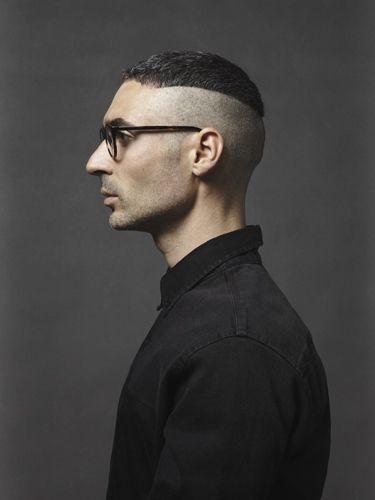 Architect Davide Marco Ferrari, photographed for swedish eyewear brand Oscar Magnuson Spectacles.