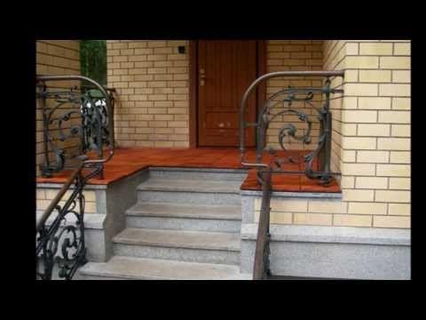 Крыльцо к дому - YouTube