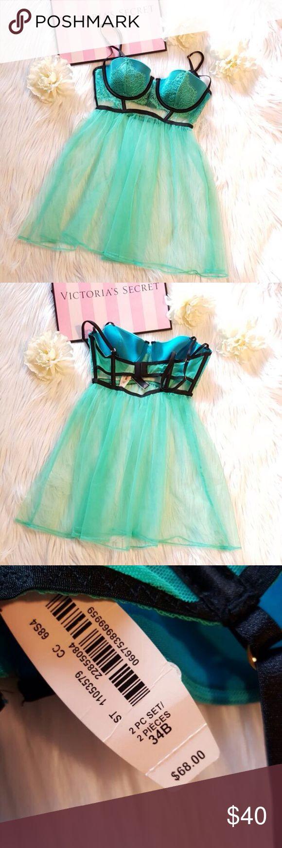 VS 34B Babydoll Lingerie VS 34B Babydoll Lingerie.    NWT. Victoria's Secret Intimates & Sleepwear