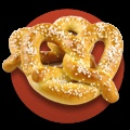 """April 26, 2012 is  National Pretzel Day  It's National Pretzel Day! Centuries ago, Catholic monks created the first pretzels from scraps of leftover dough. The unique knot shape represented the Holy Trinity, but the significance of this symbol has evolved over the course of history. During the 17th century, pretzels symbolized the bond of marriage. This is where the phrase """"tying the knot"""" originated! Today, traditional soft pretzels are popular at sporting events, carnivals, and festivals."""
