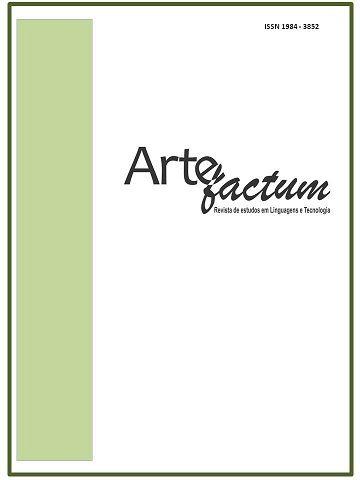 Revista Artefactum: linguagens e Tecnologias.