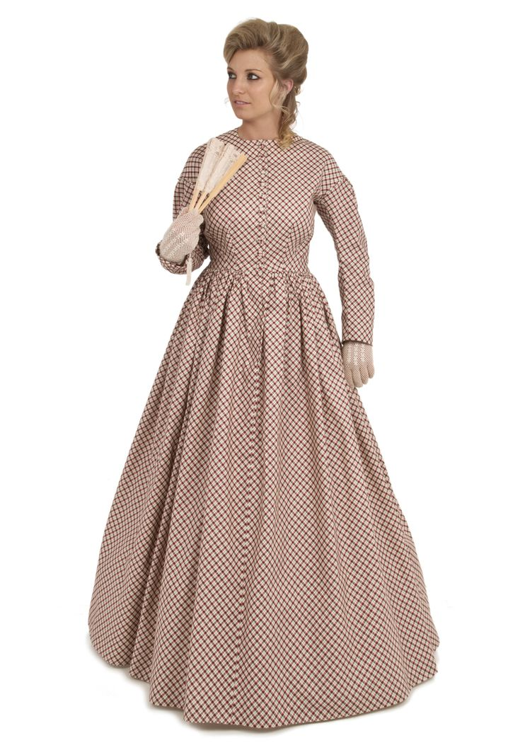 Old west prairie saloon dresses gowns from for Civil war style wedding dresses
