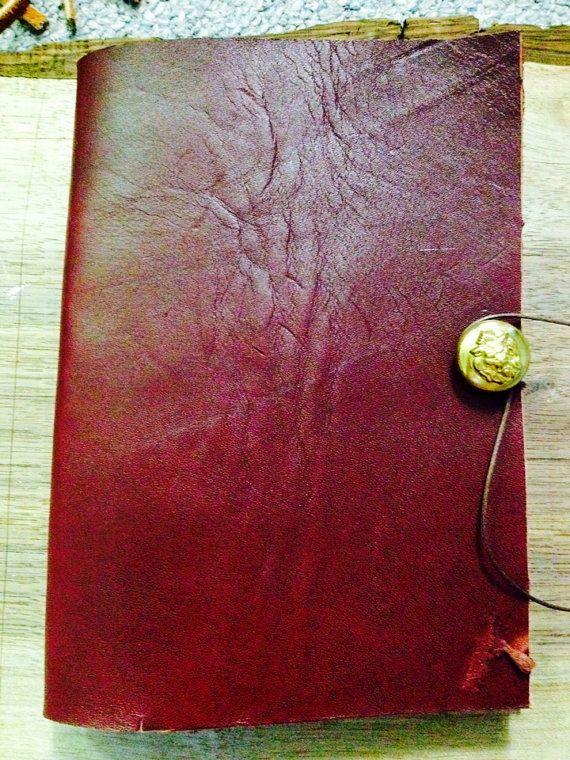 Thick Leather 2014 Agenda by BuddhaWoodha on Etsy, $16.00