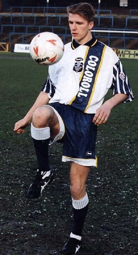 David Beckham, (Preston North End, 1994.)
