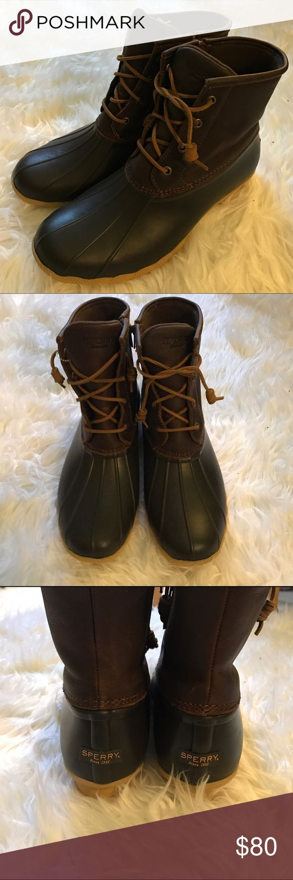 Sperry top sider boots. NWOT. Size 11 Sperry top sider boots. Brand new but without the box. Women's size 11 Sperry Top-Sider Shoes Winter & Rain Boots