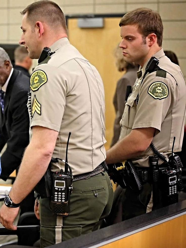 Hot male cops