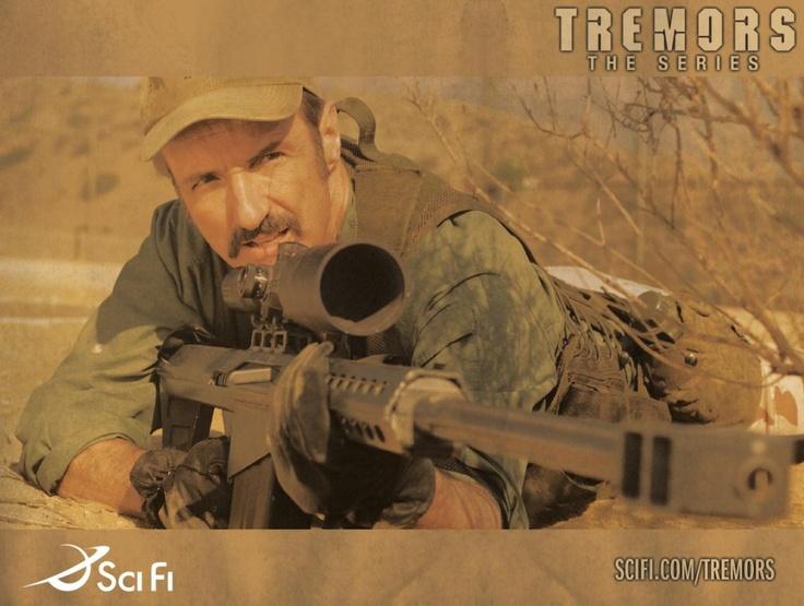 Burt Gummer (Michael Gross) Tremors film series