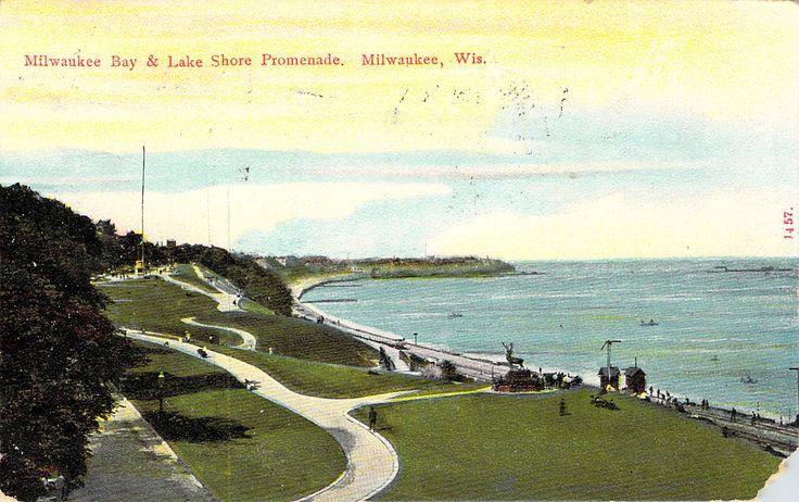 Milwaukee Bay and Lake Shore Promenade Milwaukee, WI
