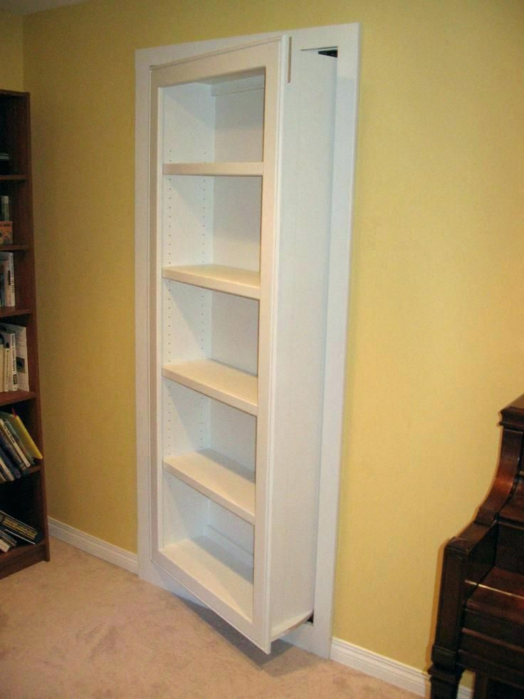 Image Result For Secret Sliding Bookcase Door
