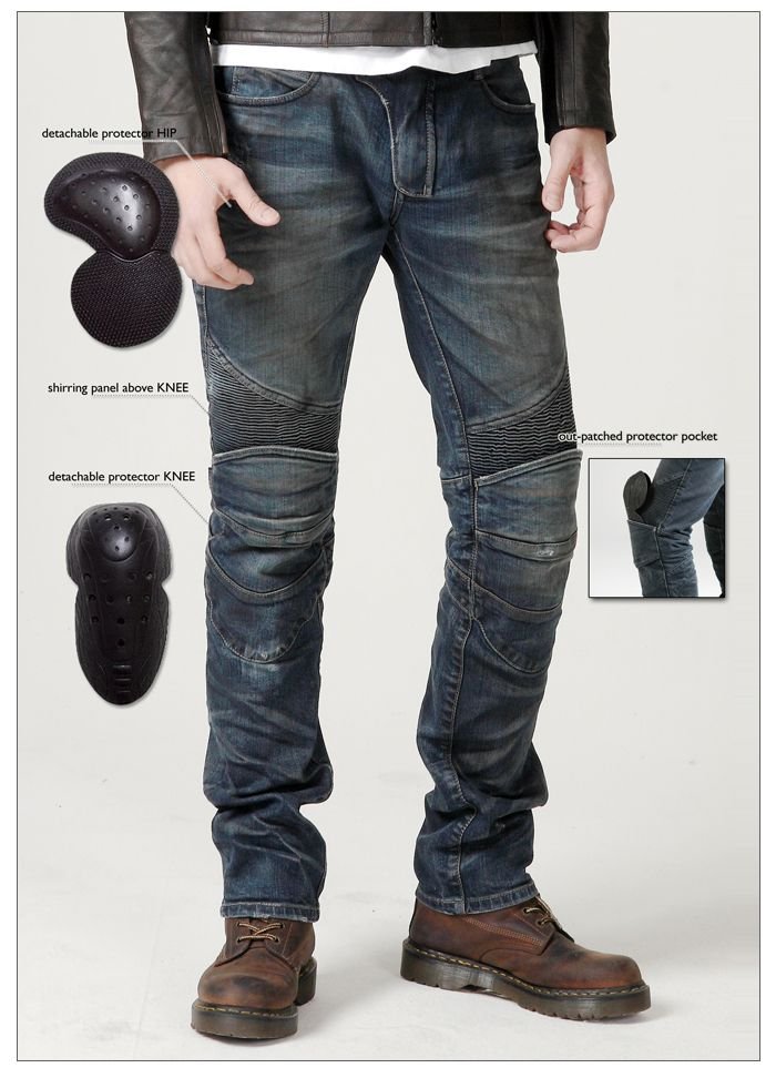 uglyBROS's Featherbed-dirty moto pants. More than just jeans.