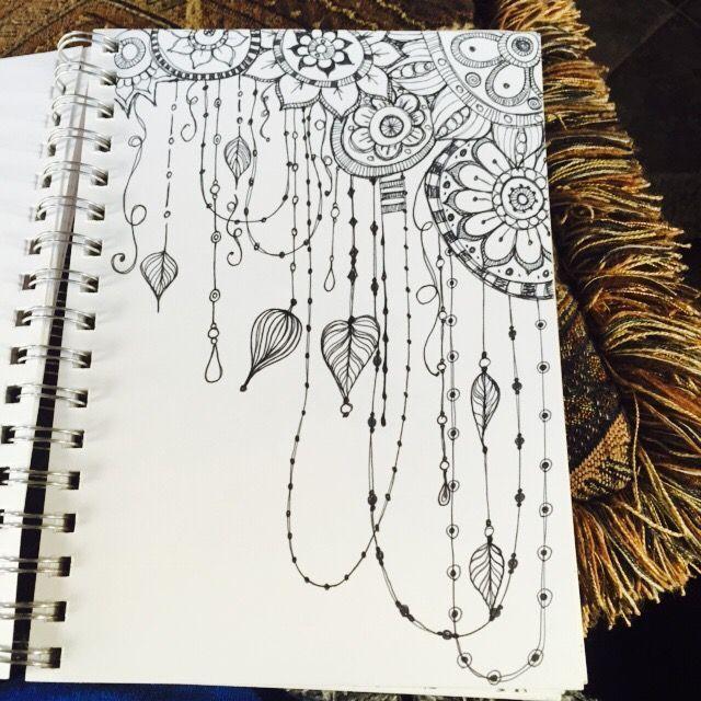 Sketchbook : Quickie Floral Doodles