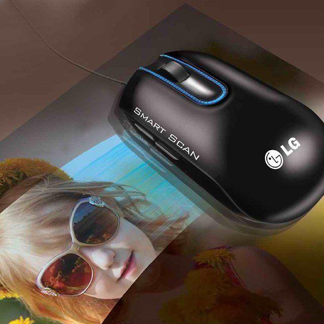 smart scan scanner mouse by lg mice. Black Bedroom Furniture Sets. Home Design Ideas