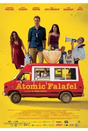 """A diverting, quick paced parody with a professional peace message, """"Atomic Falafel"""" envelops the Israel-Iran atomic confrontation, the Internet fellowship of two teenagers from the contradicting na…"""