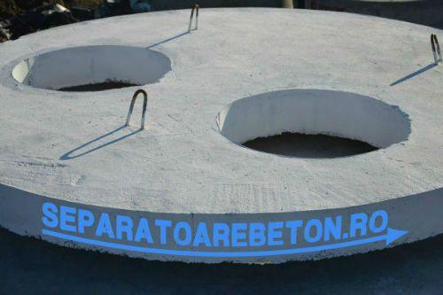 Capac pentru separator de hidrocarburi din beton