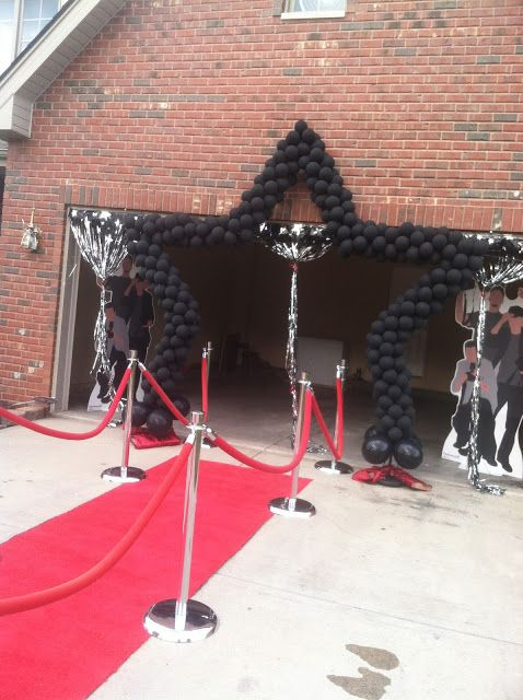 Prom Send Off Balloon Decor Pinterest Prom